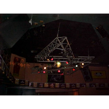 Night club custom lighting truss