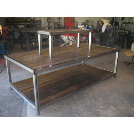 Custom made double table