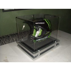 Monster helmet display single