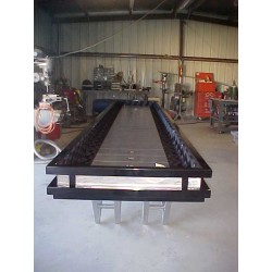 17 foot custom shuffle board table