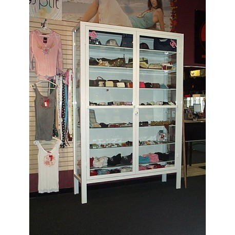 9 foot product display case