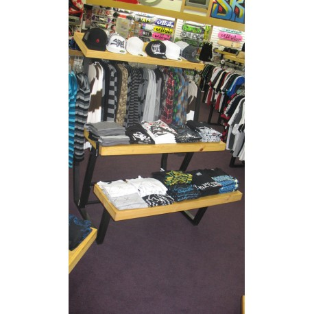 Custom store clothing display