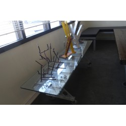 Custom decor display table