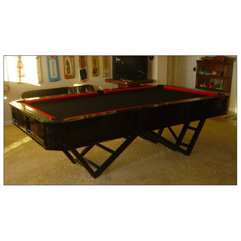Custom pool table designed   created by Louie Tozser Design. Custom furniture   Custom interior designer in Riverside