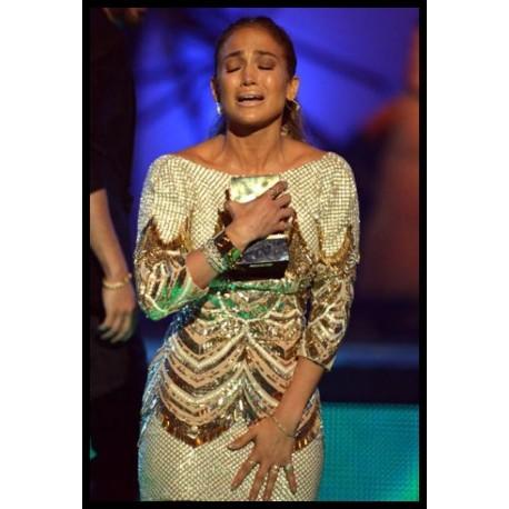 Jennifer Lopez accepting PJ awards -Designed by LTD