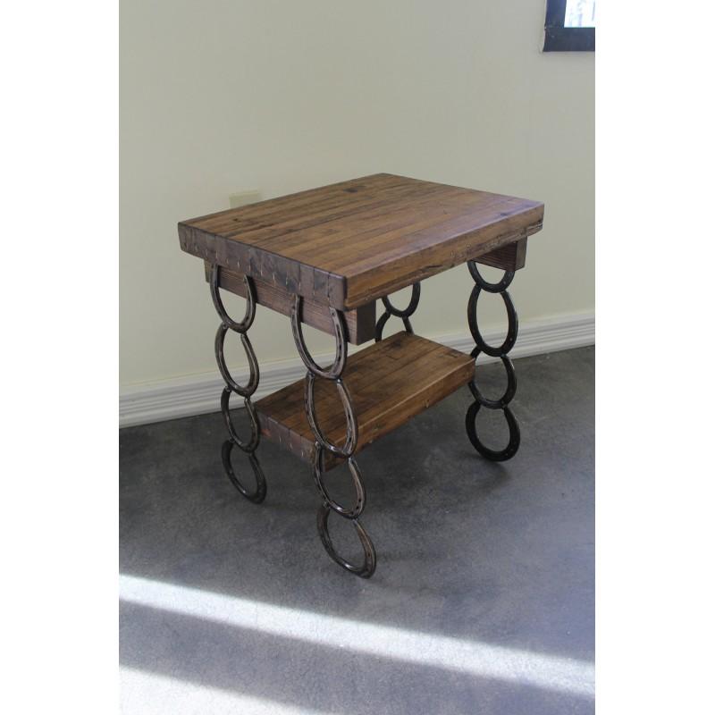 Custom Wooden Side Table