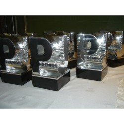 Premios awards custom made by LTD