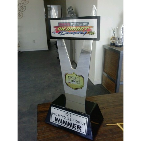 Pro Nitrous Shootout award designed by LTD