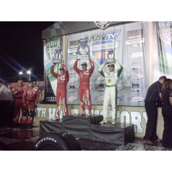 Tony Kanaan, Ed Carpenter & Scott Dixon Indy Car award