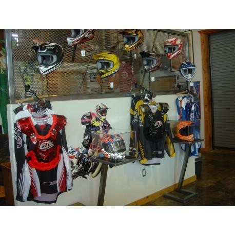 Custom display for wall - Troy lee Designs
